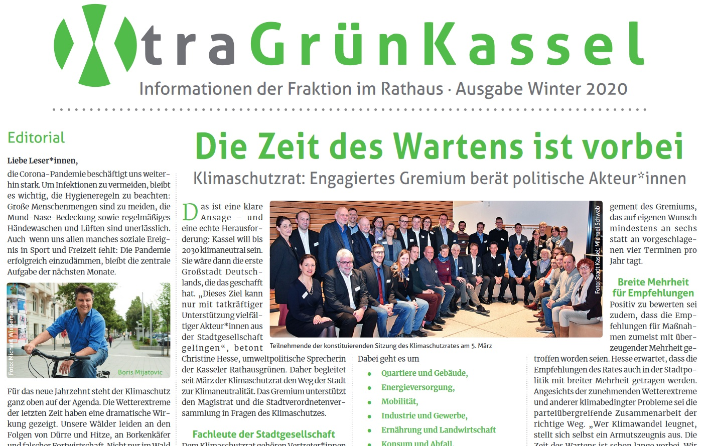 Xtragrün – Ausgabe Winter 2020