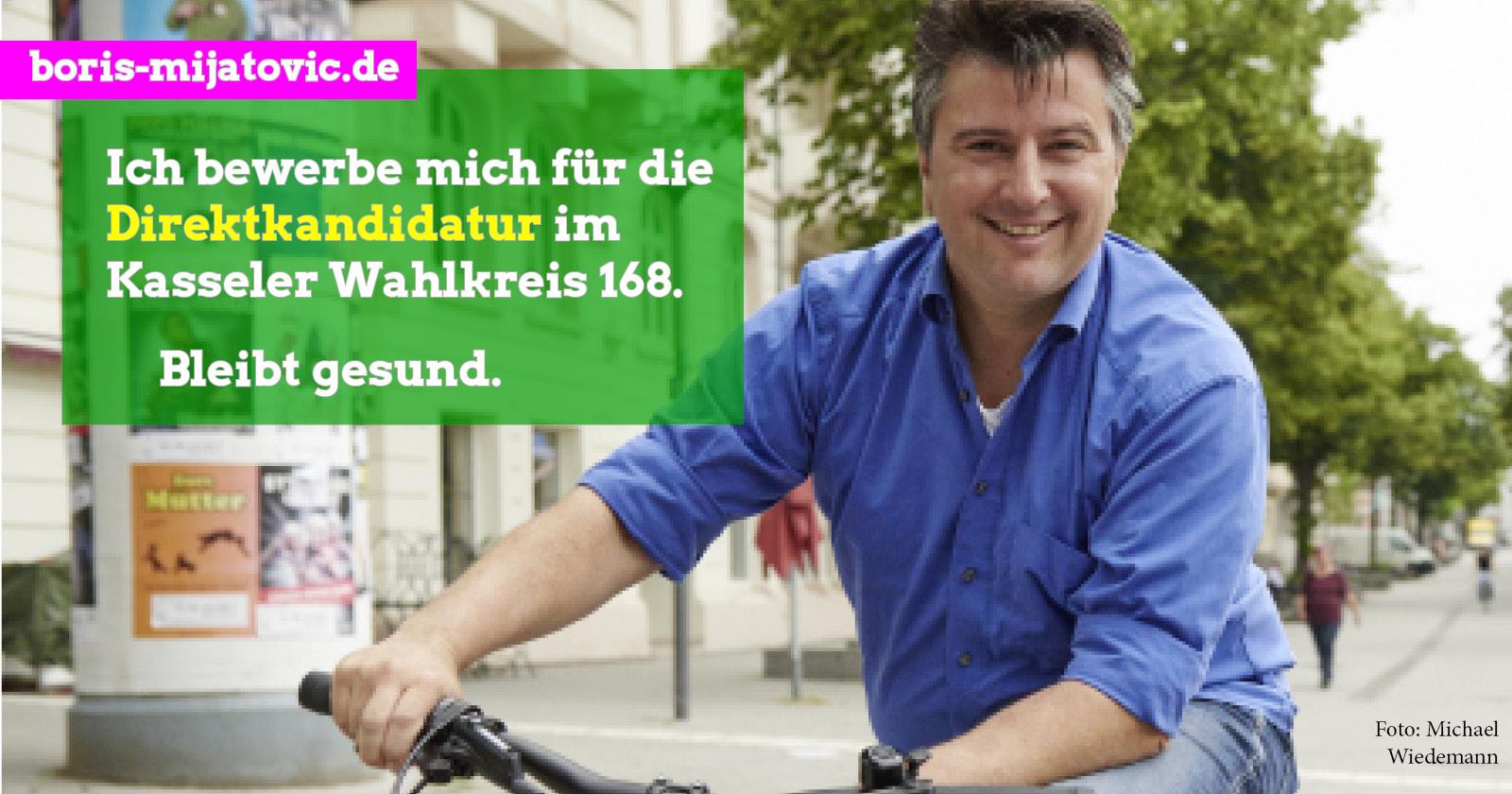 Bewerbung für den Bundestagswahlkreis