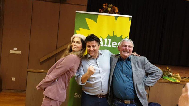 Sarah Wiener, Boris Mijatovic, Martin Häusling