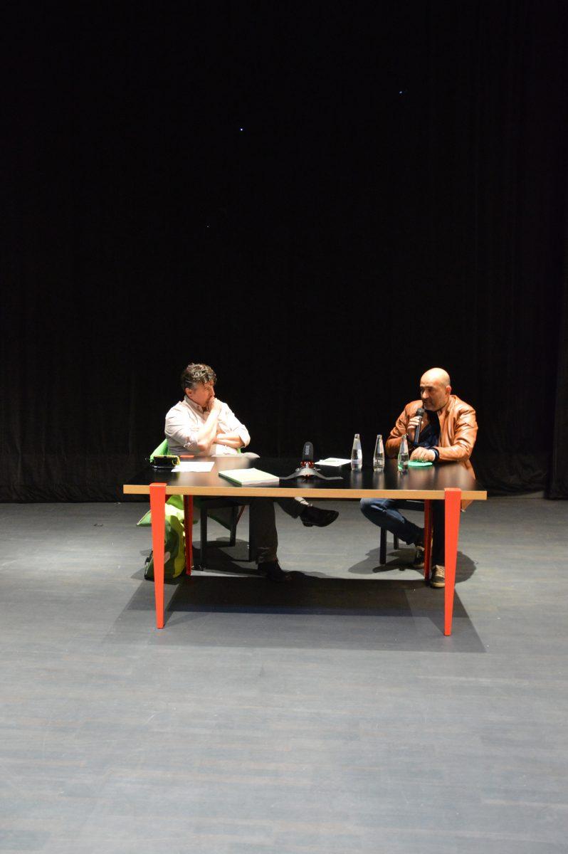 Omid Nouripour im Gespräch mit Boris Mijatovic, Kassel, August 2021