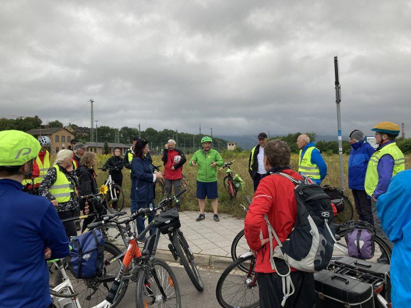 Radtour im August 2021, Bündnis 90/ Die Grünen, Kassel, Frauenhofer Institut, Boris Mijatovic