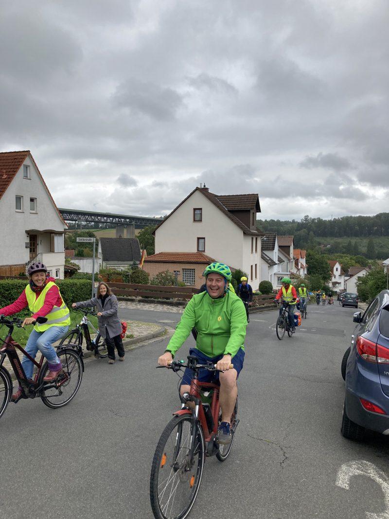 Radtour Bündnis 90/ Die Grünen, August 2021, Kassel, Kaufungen, Lohfelden, Boris Mijatovic